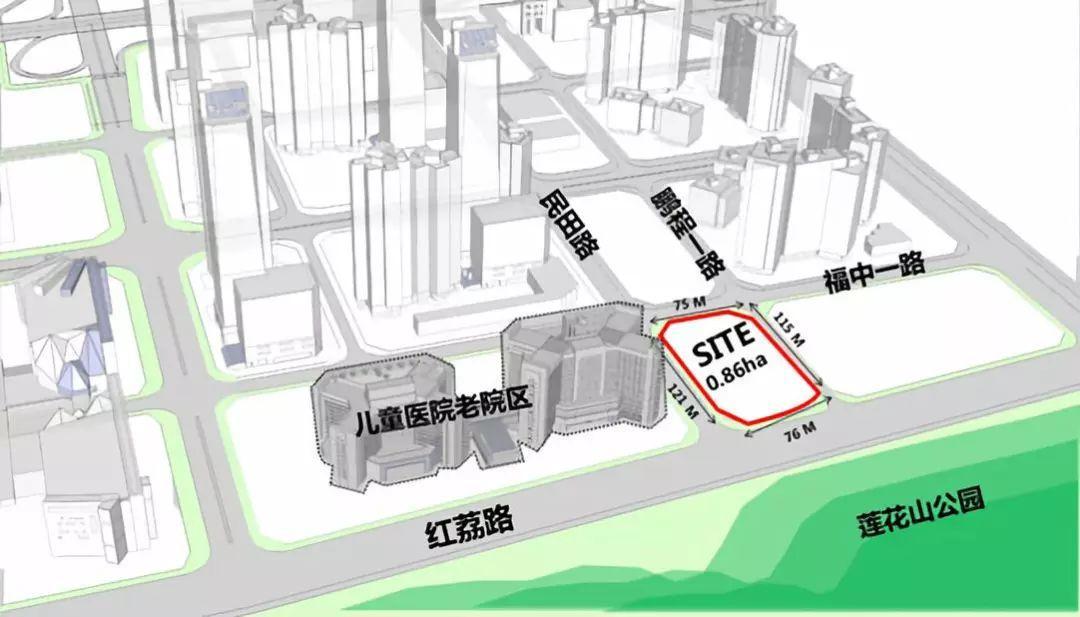 【招標公告總設計費約2460萬】深圳市兒童醫院新老院區地塊整體概念設計,及科教綜合樓全過程設計國際招標